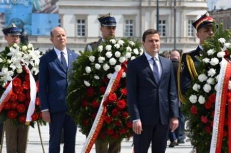 Mazowieckie. Obchody 100. rocznicy III Powstania Śląskiego.